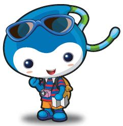 Yeony (Mascot of Expo 2012 Yeosu Korea)
